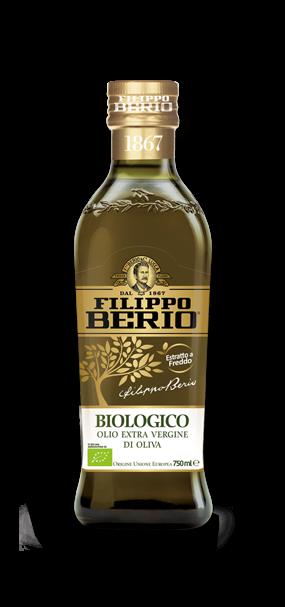 olio extra vergine di oliva biologico 750